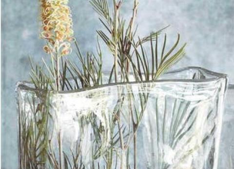Dean Flowers Slab Vase