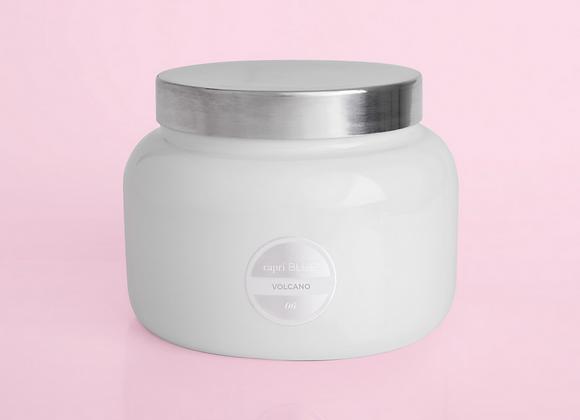 Volcano White Jumbo Jar, 48 oz