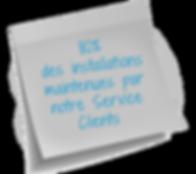 contrat maintenace SAV clientèle service