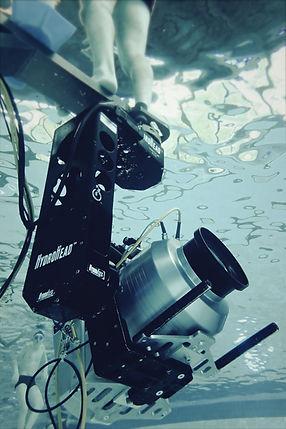 Machinerie et lumière sous-marine