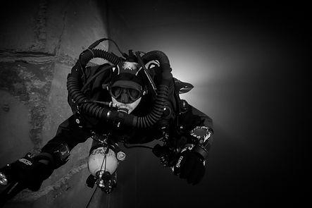 Recycleur prise de vue sous marine
