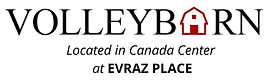 Volleybarn located in Canada Centre at Evraz Place