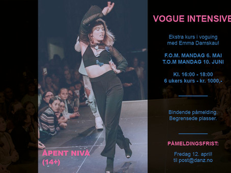 Intensivekurs i Voguing!!