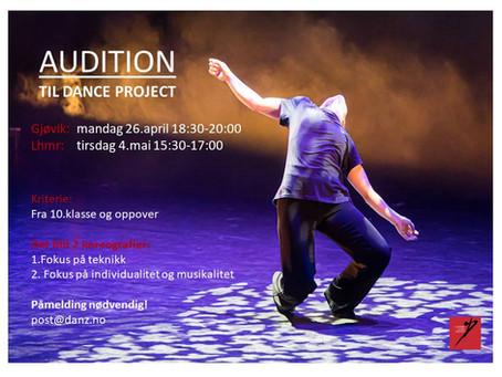 Vi ønsker nye medlemmer i Dance Project kompanier og DANZcrew!