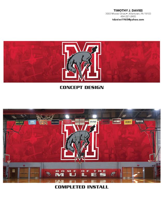 College Athletics Department Graphics