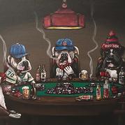 Dogs Playing Poker 2
