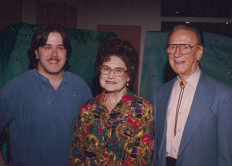 With Kitty Wells and Johnny Wright