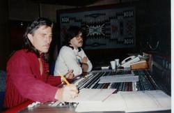 With John Abbott at Sessions Studio