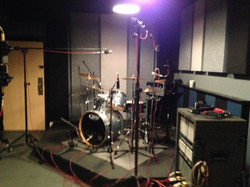 Drums at Studio C