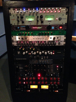 Rack 1 at Studio C.