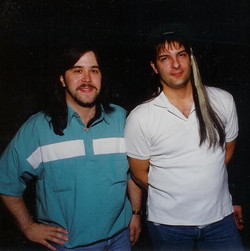 With Dennis Mareno