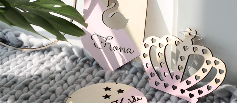 Customized Wooden Name Sign