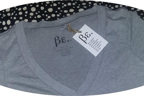 Women's Gray/ No Logo V-Neck