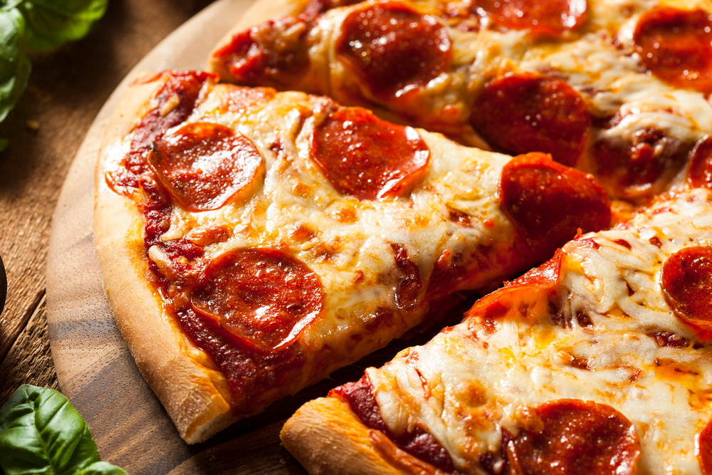 pizza healthy food