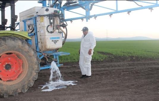 Plateformes de démonstration produits phytosanitaire Bayer