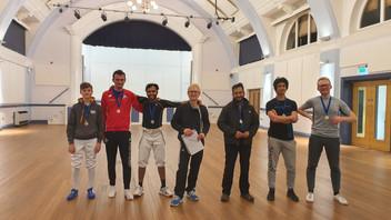 Winners of the HFC Halloween Tournament!