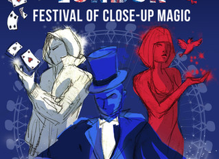 London Festival of Close-Up Magic 2019 gets underway!