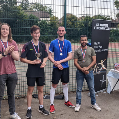 Gold, Silver & Bronze medals at SAFC Open Air!