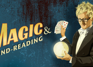 Magic & Mind-Reading Show Opens