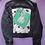 Thumbnail: 101 Dalmatians Reworked Denim Jacket - Women's Medium