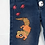 Thumbnail: Salamander Hand Painted Denim Pants - Toddler 3T