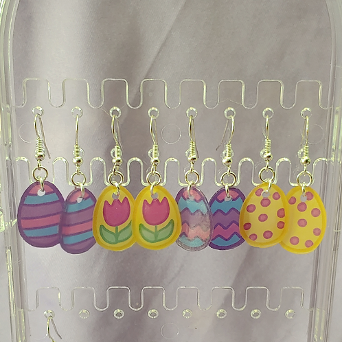 Easter Egg Dangle Earring
