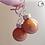 Thumbnail: Shiny Bronze Ornament Dangle Earring