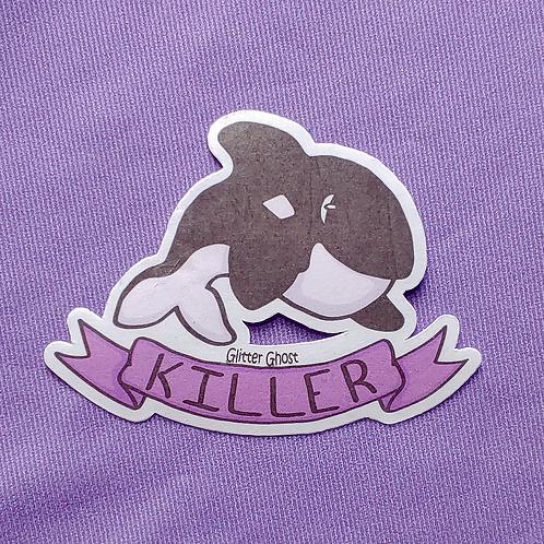 Killer Whale 3 inch Sticker