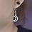 Thumbnail: Crescent Moon Dangle Earring