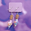 Thumbnail: Pastel Rainbow Hearts Love Potion Dangle Earring