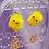 Thumbnail: Chick and Dots Egg Dangle Earring