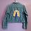Thumbnail: Rainbow Crochet Denim Jacket - Child Xlarge (14-16)