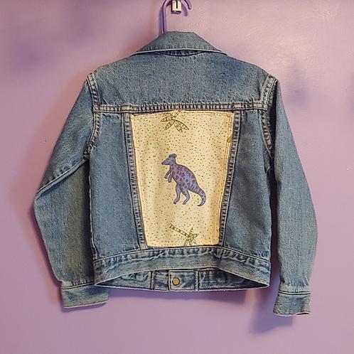 Dinosaur Reworked Denim Jacket - Toddler 2T
