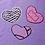 Thumbnail: Spooky Hearts 3 inch Sticker