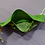 Thumbnail: Weed Leaf Camo Adult Face Mask with Pockets
