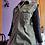 Thumbnail: Weed Leaf Denim Shirt Tunic - Women's Small