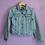 Thumbnail: Prince Edward Island Reworked Denim Jacket - Women's Medium
