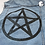 Thumbnail: Pentacle Hand Painted Denim Vest - Womens Medium/Large