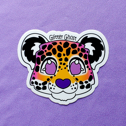 Jaguar 3 inch Sticker