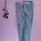 Thumbnail: ACNH Leaf Hand Painted Denim Pants - Women's Medium (31/12)