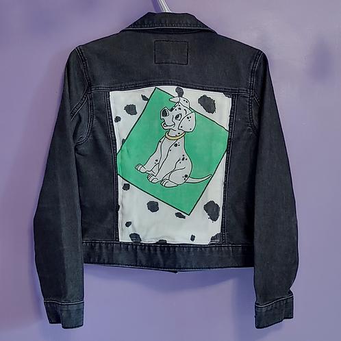 101 Dalmatians Reworked Denim Jacket - Women's Medium