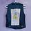 Thumbnail: Tweety Bird Reworked Denim Vest -Women's Medium