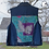 Thumbnail: Casper the Friendly Ghost Reworked Denim Vest - Girls XXLarge (16)