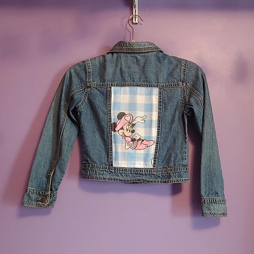 Minnie Mouse Denim Jacket - Girls Medium