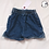 Thumbnail: Bee Hand Painted Denim Shorts - Infant 9 Month