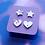 Thumbnail: Unicorn Star and Heart Stud Earring Set