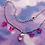Thumbnail: Glass Heart Chain Choker