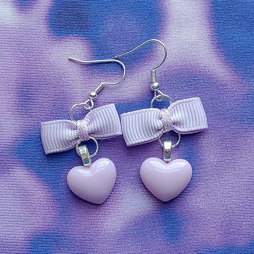 Heart Dangle Earring