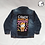 Thumbnail: Halloween Hello Kitty Reworked Denim Jacket - Child X Small (5)