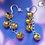 Thumbnail: Jingle Bell Chain Dangle Earring
